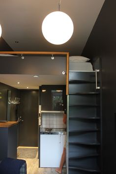 Small apartment, nice color