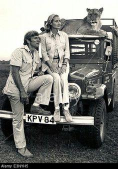 Gary Collins & Diana Muldaur in Born Free