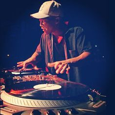 Dj Qbert! One of the best dj's out. Not only is this cat incredible at his craft but he completely renovated scratching as well as the turntable......... Originally of Shadow of the prophet and Invisbl Skratch Piklz.  Peace to Qbert and salute the DJ by savethehiphopculture