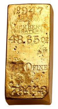 Gold Ingots from the S.S. Central America Pace Heritage Auction Results in Long Beach : Coin Collecting News