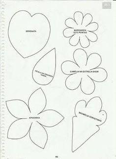 Resultado de imagem para apostila curso de flores em eva
