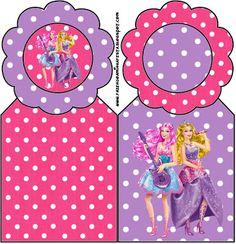 Imprimibles Barbie Princesa y Pop Star 3.   Ideas y material gratis para fiestas y celebraciones Oh My Fiesta!