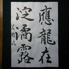 #臨書 #稽古 #褚遂良 #文皇哀冊 #堀尾茂雅 #shigemasahorio #shodo #書道家 #書家 #書道 #書 #calligraphy…