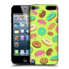 Funda-HEAD-CASE-DESIGNS-rosquillas-Funda-Para-Apple-Ipod-Touch-5g-5-Gen