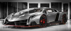 The Lamborghini Veneno is a limited production supercar which was based off of the Lamborghini Aventador. The Veneno was built to celebrate Lamborghini's anniversary. Lamborghini Veneno, Lamborghini For Sale, Lamborghini Models, Sports Cars Lamborghini, Koenigsegg, Ferrari, Maserati, Bugatti, Most Expensive Lamborghini