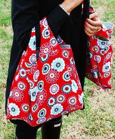 grocery bag sewing tutorial / ann kelle