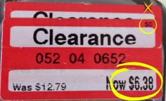 Target Clearance Tag