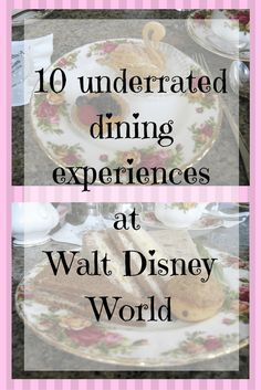 Underrated Dining Experiences at Walt Disney World
