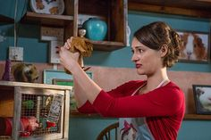 FleabagThe BBC's best new comedy is headed to Amazon this month, and it's a must-watch. Phoebe Waller-Bridge writes and stars as a Londoner struggling to keep her cafe afloat, her passive-aggressive stepmother from annoying her to death, and her sex life exciting. Think of it as the new Girls, but so much better.Watch it on Amazon beginning September 16.Pictured: Phoebe Waller-Bridge #refinery29 http://www.refinery29.com/2013/12/59820/best-british-tv-shows#slide-6