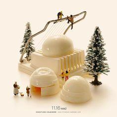 ". 11.16 wed ""Egghouse"" . 外はひんやり、中はほくほく . #ゆで卵 #かまくら #黄身は固めでお願いします #このあとおいしくいただきました #BoiledEgg #Snowhouse #igloo —————— #銀座で展覧会開催中です #詳しくはプロフィールのurlから"
