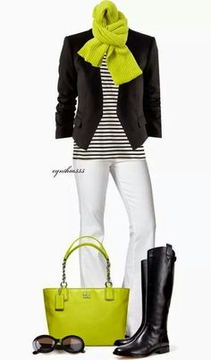 Fitted short blazer with stripes