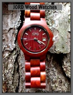 I want to WIN JORD Wood Watch - Ladies Ely in Cherry   Ends 12/15/13 #ADIMHGG2013