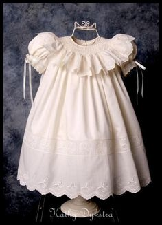 smocked dress: