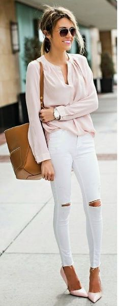Beautiful 64 Trending Skinny Jeans Outfits For Summer