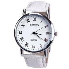 0acb86c38 Cheap watch ship, Buy Quality geneva platinum watch directly from China  watch desire Suppliers: New Elegant Fashion Watch Women Small Roman Numbers  Quartz ...