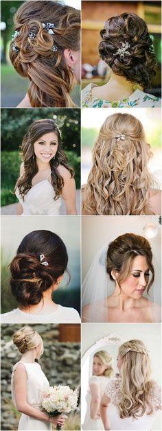 incredible long wedding hairstyles / http://www.himisspuff.com/bridal-wedding-hairstyles-for-long-hair/8/