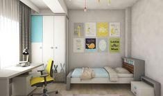 Kids Bedroom design by Mialmi Design Bedroom, Bedroom Inspo, Bedroom Decor, Kids Bedroom, Modern Contemporary, Bedrooms, Interior Design, Colors, House