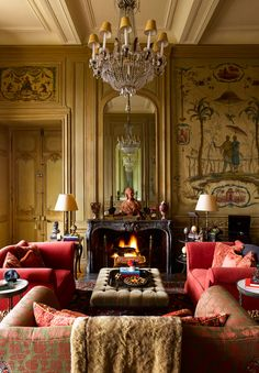 Timothy Corrigan ~ his French chateau