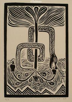 Samico. Xilogravura (1968). 25x18 cm