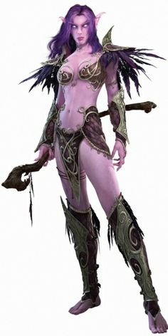 World of Warcrafts new female Night Elf modelrevealed - The Warlords of Draenor expansion will replace all of World of Warcraft's old, pointy player models. We've seen orcs, dwarves, and now Blizzard has revealed the new female Night
