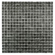 Chromatic  Silver 15x15mm Mosaic