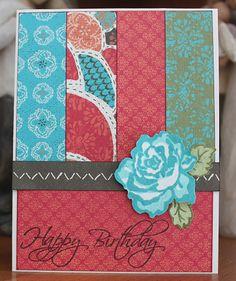 Close to My Heart Stella Birthday Card