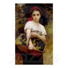off Hand made oil painting reproduction of Vendangeuse [The Grape Picker], one of the most famous paintings by William-Adolphe Bouguereau. William-Adolphe Bouguereau painted the artwork entitled Vendangeuse, most commonly known as The . William Adolphe Bouguereau, Munier, Fine Art, Beautiful Paintings, Oeuvre D'art, Art History, Painting & Drawing, Figure Painting, Amazing Art