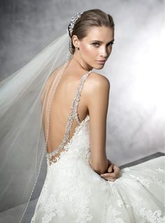 PRALA-PRONOVIAS-LOW-BACK-BEADED-PRINCESS-WEDDING-DRESS-LUV-BRIDAL