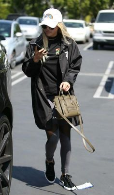 Sofia Richie recently showcased her fashionista credentials at the recently concluded Coachella Music Festival in Indio Springs. And, she pulled off another trendy look comprising of sheer cut out leggings and long trench style coat as she headed out for lunch at Mauro's Cafe Fred Segal in sunny West Hollywood, Los Angeles on April 25, 2016.