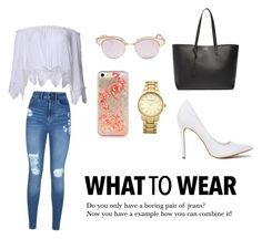 """""""What to wear?"""" by katherine-macedo on Polyvore featuring moda, Lipsy, Yves Saint Laurent y Topshop"""