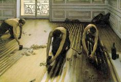Gustave Caillebotte. Floor Scrapers, 1875.