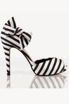 siyah beyaz stiletto