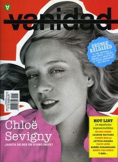 Una de mis portadas favoritas de Vanidad. Chloe Sevigny Sept 05