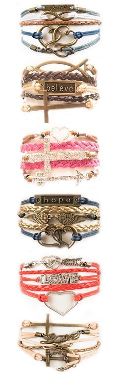 Display your faith with our Christian inspired charm bracelets! For a limited time get 3 of our best selling bracelets for FREE! Just pay shipping. Hurry! This offer is set to expire at the end of the month. Pin to save this great deal for later.