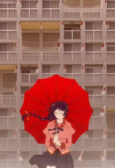 "Crunchyroll - Visual For Third ""Kizumonogatari"" Anime Movie Published - Plus Anime Character Designer Attached To New Light Novel"