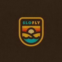 Slo Fly by Bram Johnson @bramjohnson  LOGOINSPIRATION.NET by logoinspirations