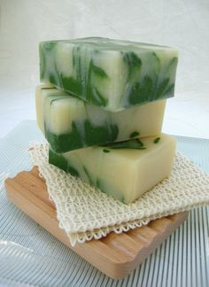 Hostess gift for St. Pats Party - Handmade Soap Lime and Shea Organic Soap Vegan by SweetSallysSoaps