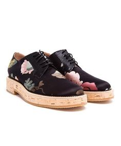 DRIES VAN NOTEN - Floral Fabric Brogues #dries #driesvannoten #brownsfashion