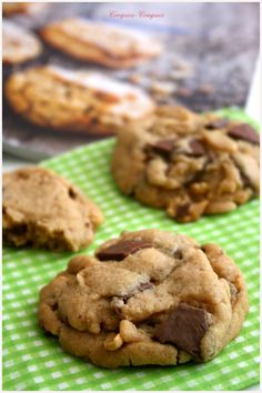Pillow cookies ou l'alliance parfaite du brownie et du cookie