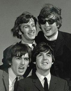 Richard Starkey, John Lennon, George Harrison, and Paul McCartney by pearlie