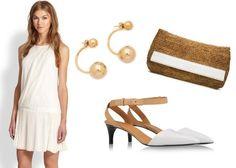 Five Ways To Wear White-On-White Beyond The Tennis Court