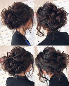 Кто сказал, что на темных волосах не видно текстуру  #пучок #texturedhair #tonyastylist #hairstyle #hairdo #updo