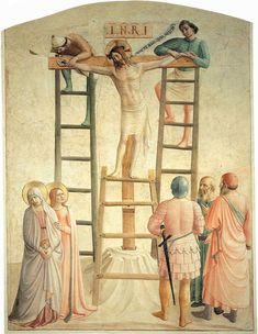 Christ Being Nailed to the Cross by Fra Angelico