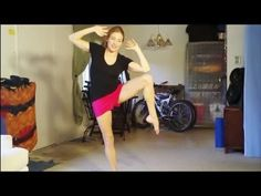 Love Handle Workout With Meggin….super quirky and fun…great workout moves.