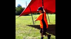 www.stretchtents.com.au - Our innovative Quick tension cleat system for #stretch #tents Installation of our stretch tents is now even easier with our quick tensioning cleat system. To securely tension and change a stretch tents shape can now be done by a single installer in just a few seconds .... without the need for expertise in complicated knots or tent installation training