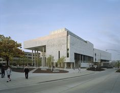 Knowlton School of Architecture, Ohio State University by Mack Scogin Merrill Elam Architects