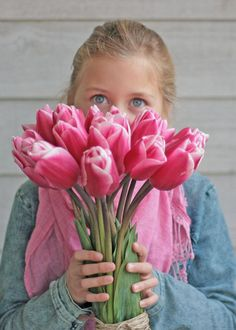 Say it with pink tulips named Expression. Order your flowerbulbs now and enjoy a garden full of flowers in spring. Checkout our exclusive range of tulip bulbs on our webshop. Pink Tulips, Pink Flowers, Tulip Bulbs, Hoppy Easter, Bulb Flowers, Flower Farm, Beautiful Children, Bloom, Rose