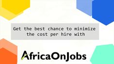 You can search new jobs in Africa covering Executive Jobs Africa. Jobseekers can apply to the top Employer companies. Free Job Posting, Executive Jobs, Brand Promotion, Find A Job, Job Search, New Job, How To Apply, Profile, Tools