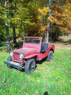 1946 Willys - Photo submitted by Steve Darroch. Jeep Cj7, Jeep Wrangler, Vintage Jeep, Vintage Cars, Jeep Willis, Willys Wagon, Jeep Baby, Military Jeep, Cool Jeeps