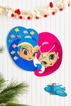 Count down the days until Christmas with this sparkly advent calendar idea! 5th Birthday, Birthday Parties, Birthday Ideas, Days Until Christmas, Shimmer N Shine, Cute Dolls, Diy Costumes, Advent Calendar, Projects To Try